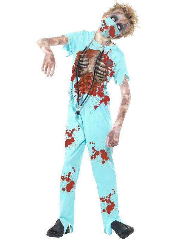 Costume enfant : le chirurgien zombie
