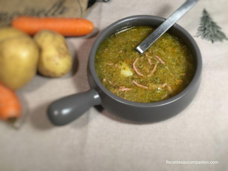 Soupe au choux au cookeo companion thermomix ou autres robots