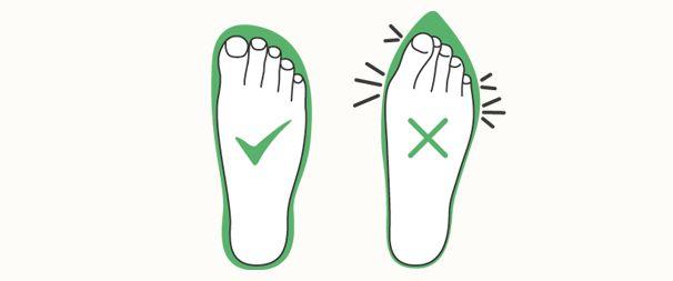 Correct footwear | Mölnlycke Health Care