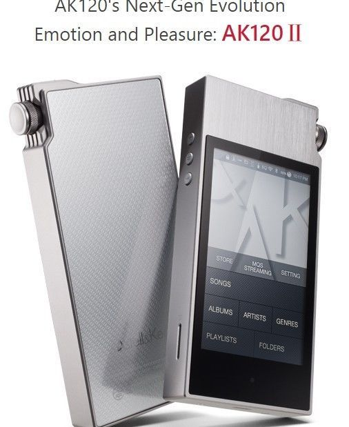 Astell & Kern AK120 2nd Generation of 129GB(NAND) MP3 Player #AstellKern