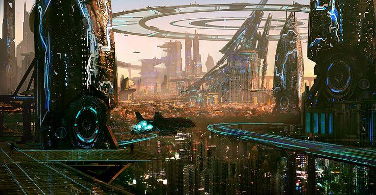 Downtown by RichardDorran.deviantart.com