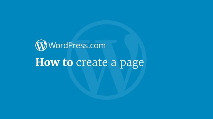 Ready to get publishing? Find out how to create a page in this video tutorial. DIYwebsite website blogging WordPress