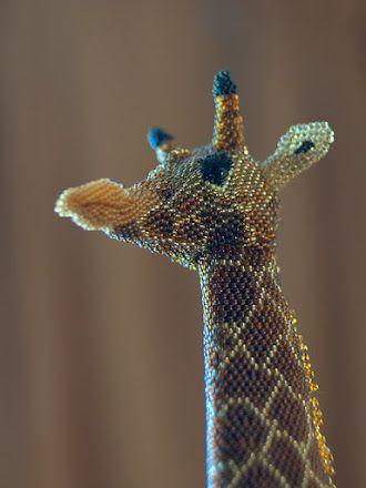 Zhanna Vasilieva - amazing bead's animals