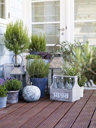 Secret Terrace Gardens - Just a Smidgen