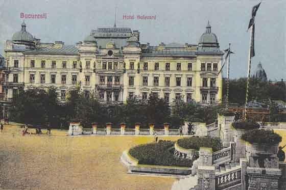 Bucuresti , Hotel Bulevard , 1922