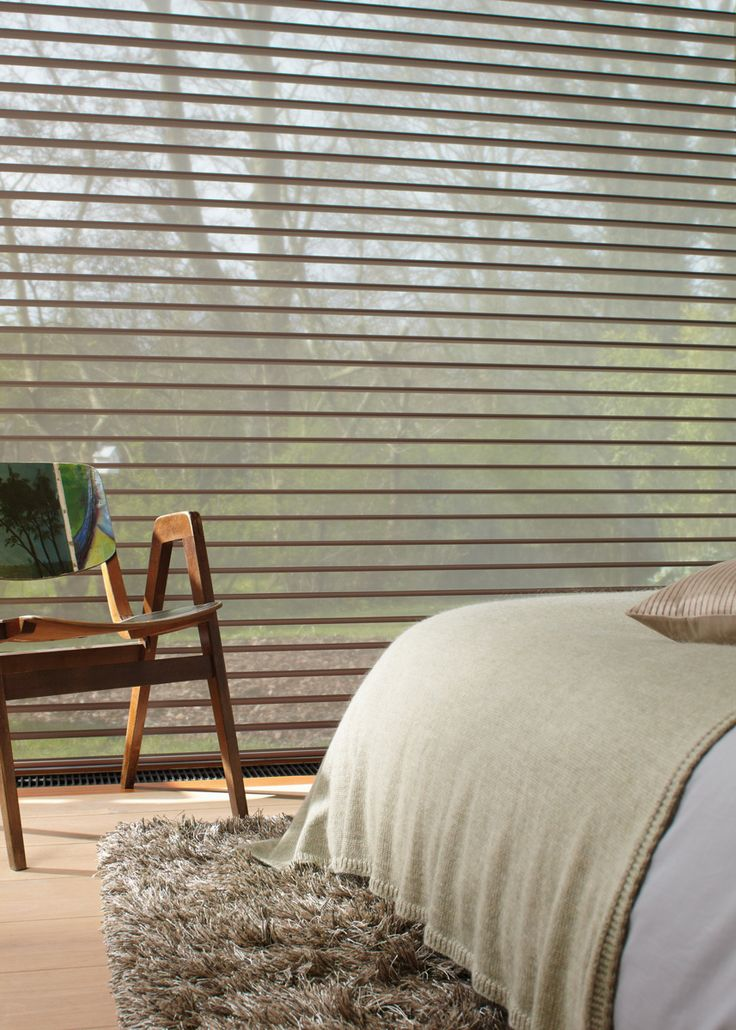 Luxaflex® Silhouette® Shades. Superbly stylish Silhouette® Shades take the harshest sunlight and smoothly transform it creating beautiful, calm light effects.