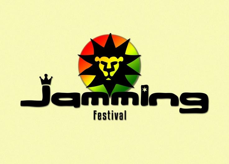Diseño logo jamming festival