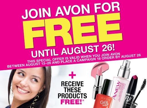 Join Avon for Free!