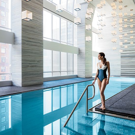 Park Hyatt New York: huge rooms and one of our favorite pools in the city