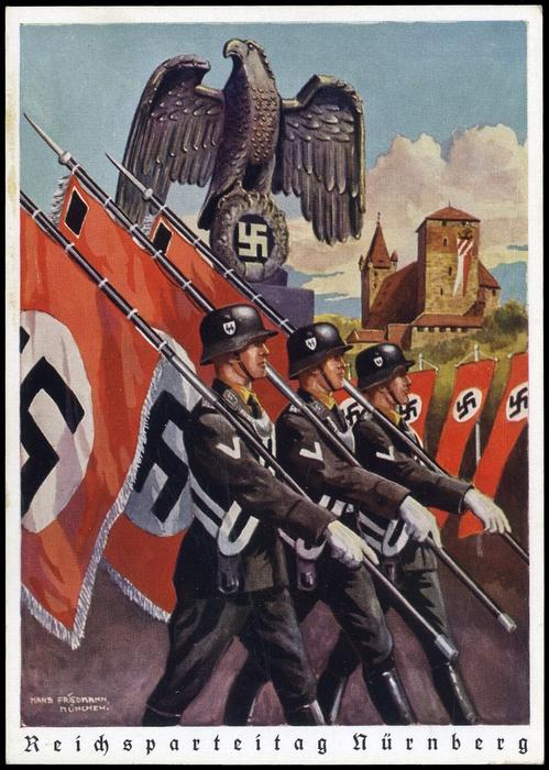 Postkarte Reichsparteitag Nürnberg