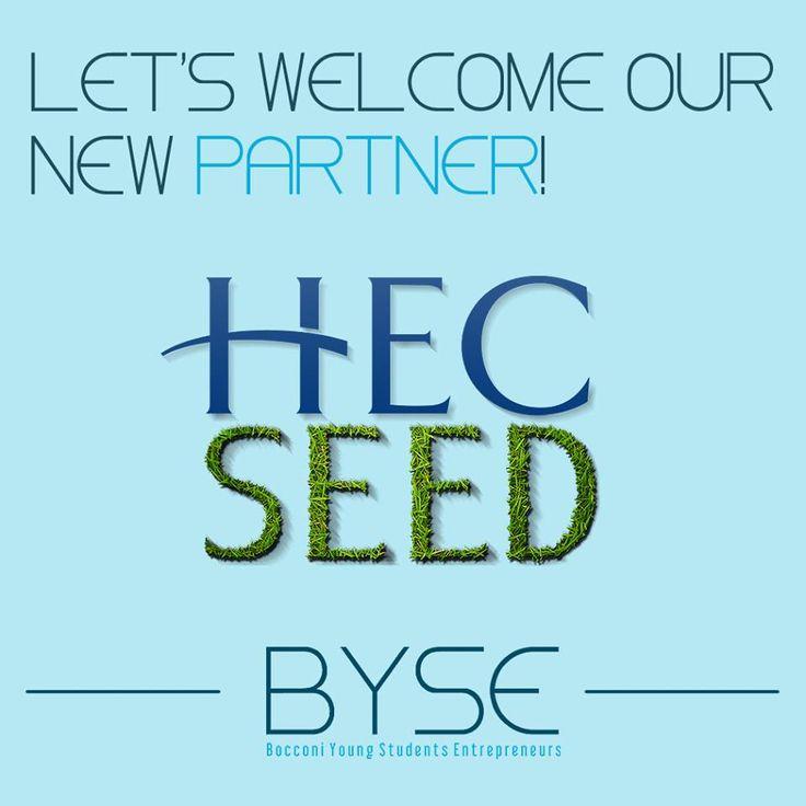 Partnership realizzata da BYSE (Bocconi Young Students Entrepreneurs) con HEC SEED dal 12 aprile 2015