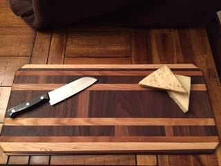 A personal favorite from my Etsy shop https://www.etsy.com/listing/261900604/hand-crafted-cutting-board