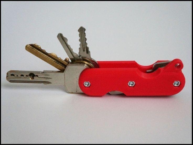 Breloczek - scyzoryk do kluczy,  organizer kluczy