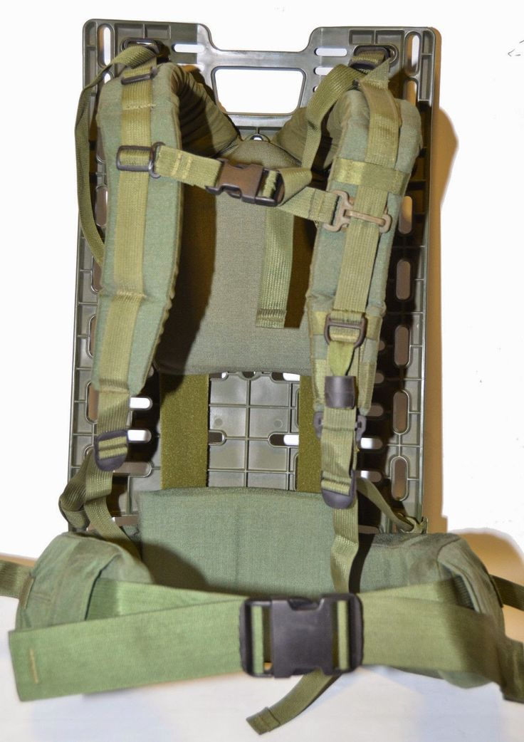 Canadian Army Rucksack / Cargo Pack / Pack Board frame , ERYX system,Canadian Army Rucksack