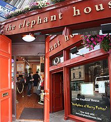 Birthplace of Harry Potter...The Elephant House cafe in Edinburgh