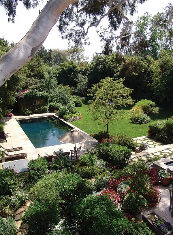 Beautiful Backyards With Pools 15 Decoratoo Backyard Pool Pool Landscaping Swimming Pool Designs