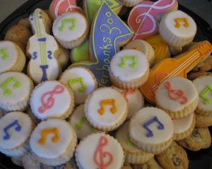 country music themed birthday party | food station was themed to a different music genre. They had country ...