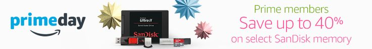 Prime day deals: Up to 40% off on Sandisk cards! #photography