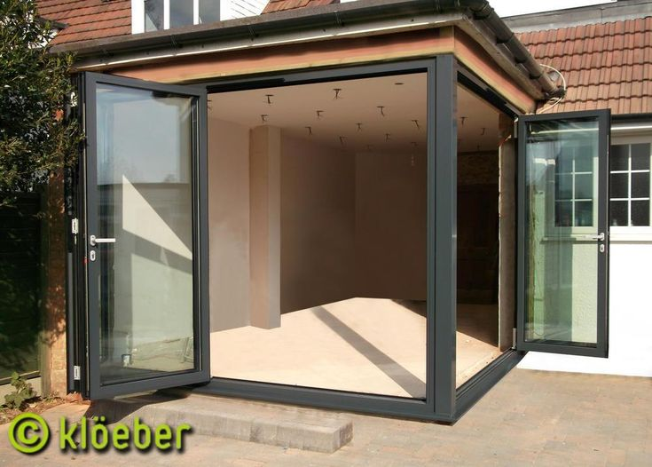 Bi fold doors with removable corner post diynot forums for Removable walls and doors