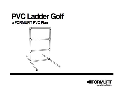 Ladder Golf PVC   FORMUFIT | Free PVC Plan Part 85