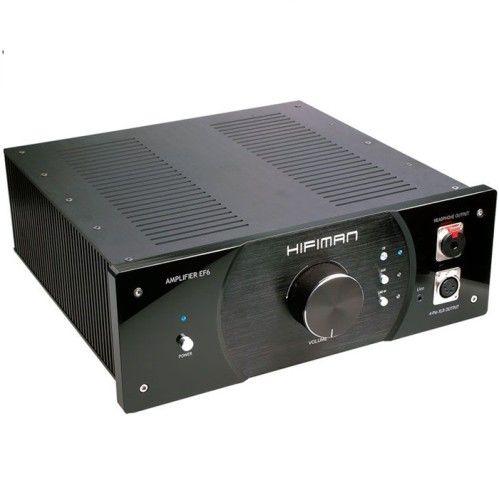 """AMPLIFICADOR DE AURICULARES HIFIMAN EF6. Calidad audiófila para los auriculares más exigentes (y para los oyentes). Pesando nada más y nada menos que 10 kg, este """"tanque"""" en forma de amplificador otorga suficiente potencia para mover virtualmente cualquier auricular con facilidad. Hace una pareja especialmente buena con los modelos planares de la propia HifiMAN, incluyendo el HE-6. #auriculares #amplificador #Hifiman"""
