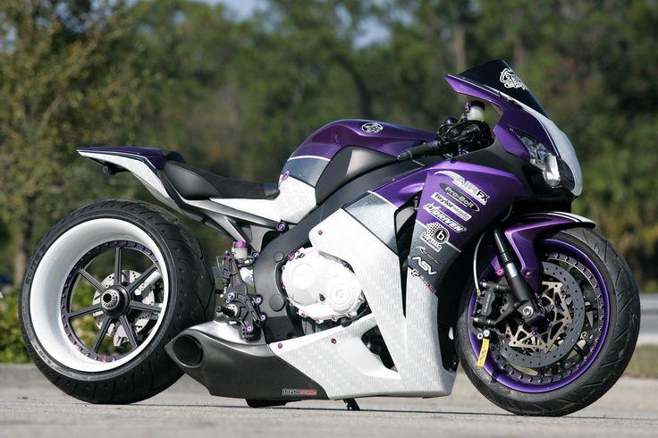 Purple Motorcycles