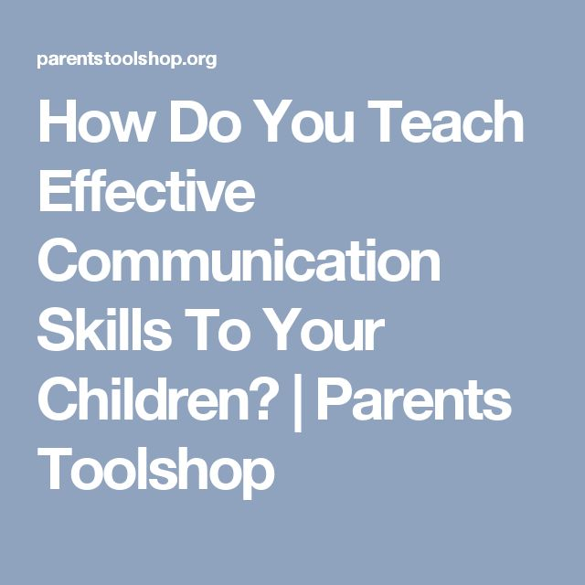 how effective communication impacts a child Nursing paediatric patients - effective procedural communication | ask any   often escalate causing a flow on effect to not only parents and caregivers,  the  chances of a nurse being involved in the care of a child that hasn't.