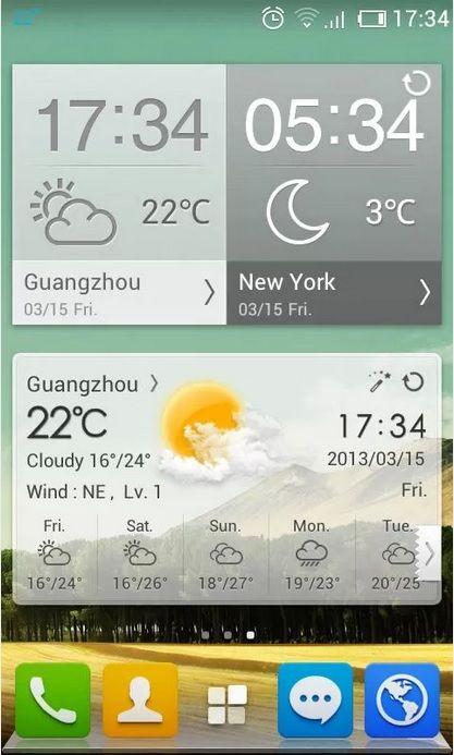 9 aplicaciones para conocer el pronóstico del tiempo: GO Weather Forecast & Widgets
