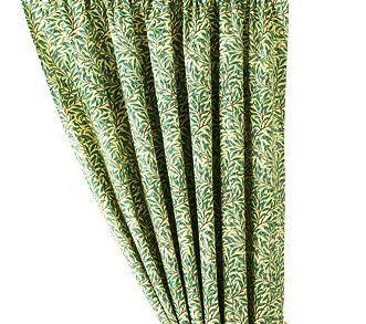 "William Morris Willow Bough Green Kitchen Curtains 50"" X 54"" william morris http://www.amazon.com/dp/B00KNC28S2/ref=cm_sw_r_pi_dp_aN6dub1QX1QTK"
