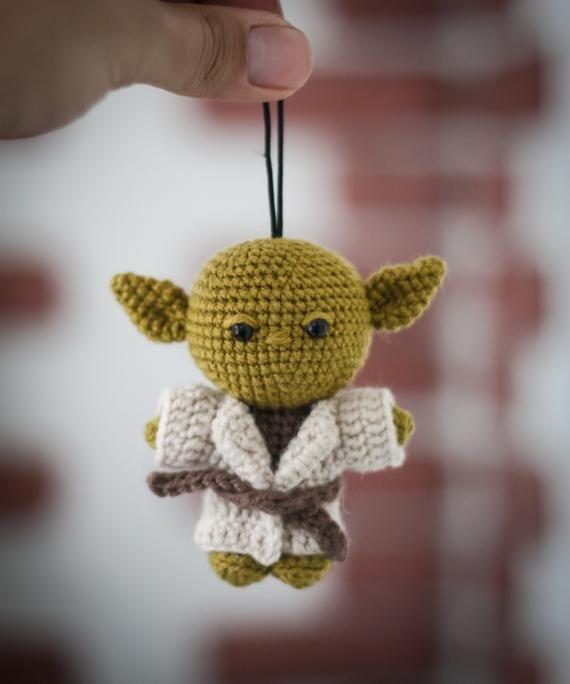Chibi Yoda - Amigurumi | Star wars yoda, Chibi, Amigurumi doll | 684x570