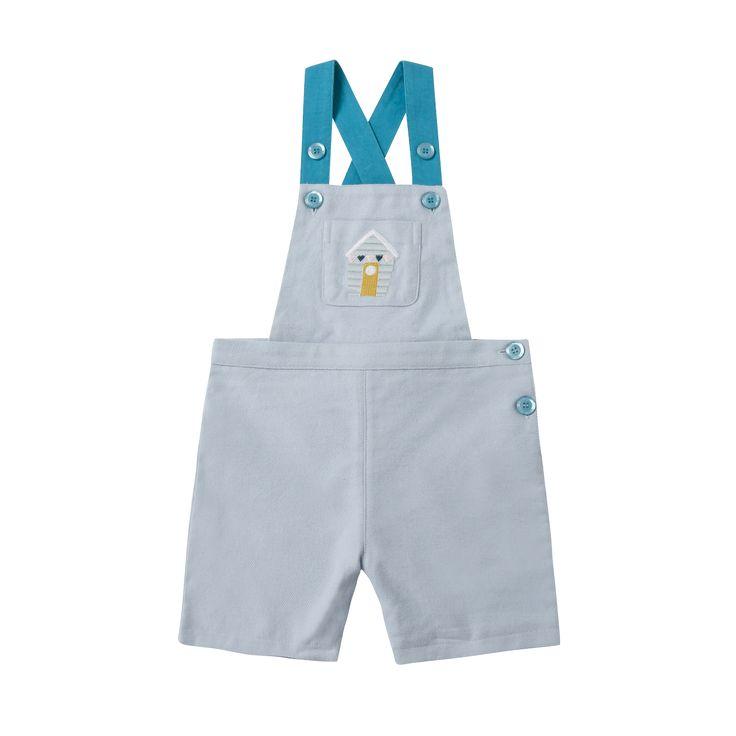 Beach House Dungarees | Happyology Coast Collection SS16