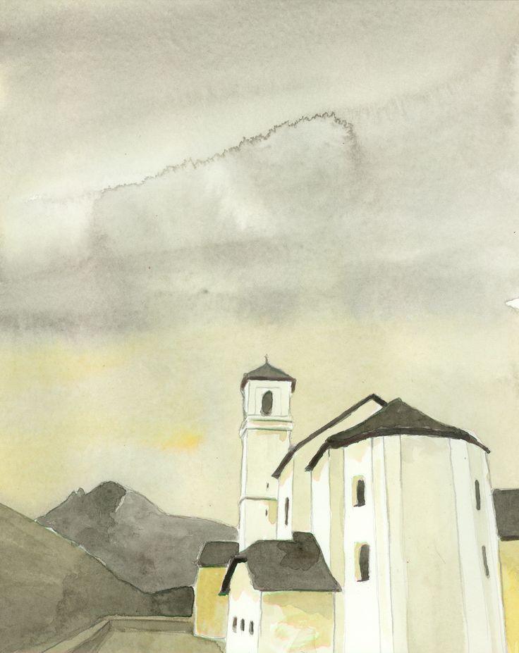 Kirche Simplon Dorf Seehorn