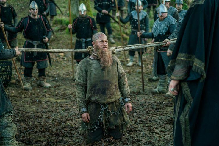 Ragnar Lothbrok being held prisoner in Wessex | Vikings - Season 4 Episode 14 'In The Uncertain Hour Before The Morning'