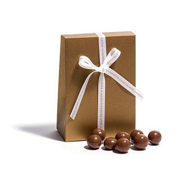 Milk Roasted Hazelnuts in Gift Satchel - available online, instore and mobile. #MothersDay #gift #delicious #chocolate