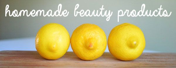Homemade Beauty Products: Recipes List from Fair Ivy