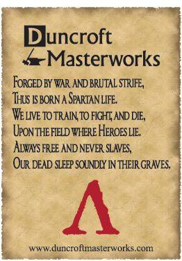 The Walls Of Sparta Spartan Warrior Poem Pendants For