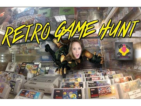 Retro Game Hunting   NEW RETRO GAMES STORE & Charity Shop Game Hunt   Th...