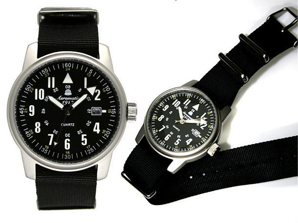 A1335 Military Watch/Nato Strap : Military watches at werners uk