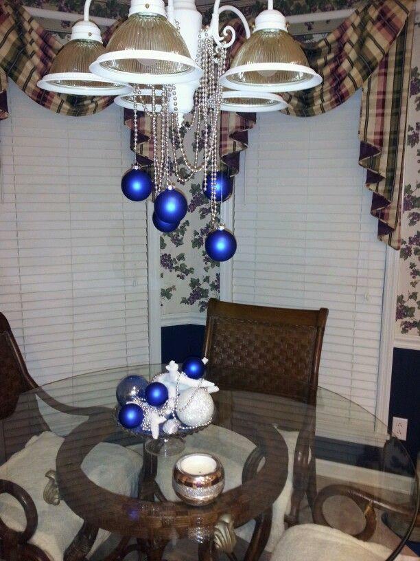 Blue christmas decorations | My home | Pinterest | Blue