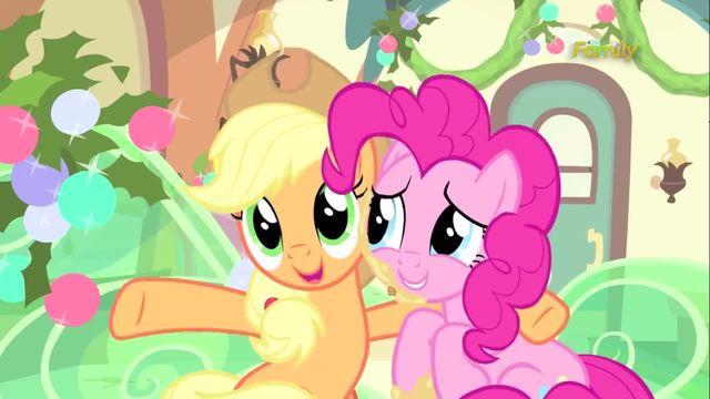 "Applejack ""friends are family"" S5E20."