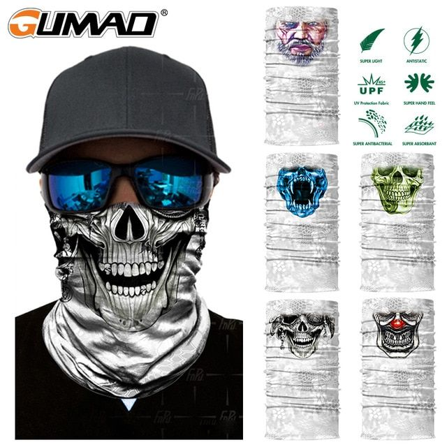 Magic Headband Multi Head Scarf Motorcycle Face Mask Shield Outdoor Sport Riding