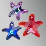 SWAROVSKI ELEMENTS Starfish Pendants