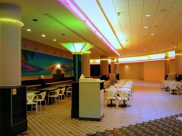 I Can't Stop Looking at This Dead Mall's Abandoned Food Court