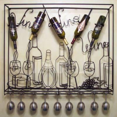 Para las botellas de vino en casa...