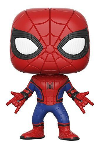 From Spider-Man Homecoming Spiderman New Suit as a stylized POP vinyl from Funko! Figure stands 3 3/4 inches and comes in a window display box. Check out the other SpiderMan Homecoming figures from ...