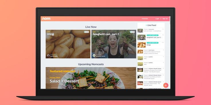 If you're like me and often find yourself scouring through YouTube for food videos before, during and after meals, you'll want to check out Nom. It's a new