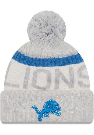 ... cap 97611 a84ac coupon for mens detroit lions new era gray 2017  sideline reverse team cold weather sport knit ... 7f3997bcb46