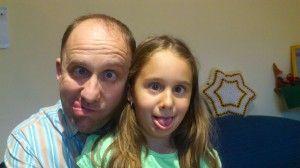 Apa és lánya..jól éreztük magunkat:)