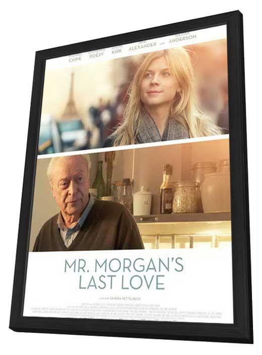 Mr. Morgan's Last Love 11x17 Framed Movie Poster (2013)