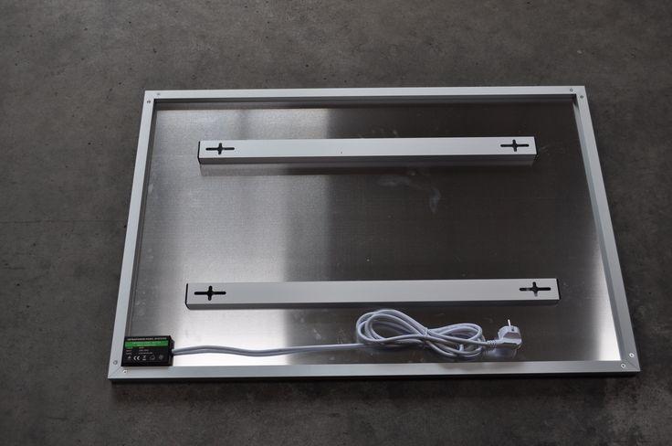 easy mounting system.Aluminium Infrared heater by Celine Infrapower europe. http://www.celine-infrapower.com/